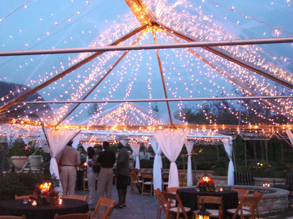 Photo of Phoenix Corporate Office - Phoenix AZ United States. Clear top tent & Clear top tent rental with Twinkle Lights by PROEM Party u0026 Event ...