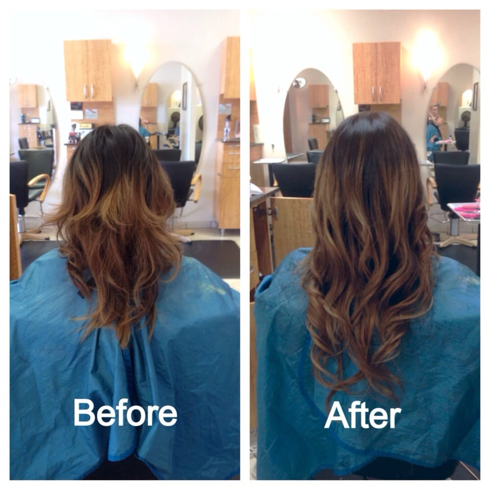 Hair Extensions By Our Stylist Karli She Uses Simplicity Tape In