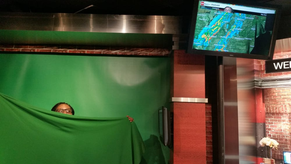 Photo of Inside CNN Studio Tour - Atlanta, GA, United States. Green screen
