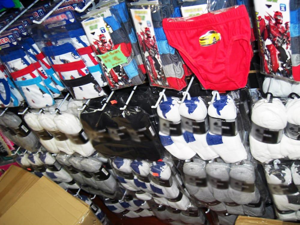 4ed9b950b Ropa interior para niño y calcetines de algodon por mayoreo - Yelp