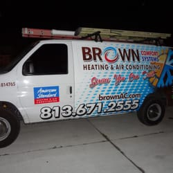 Brown Comfort Systems Heating Amp Air Conditioning Hvac