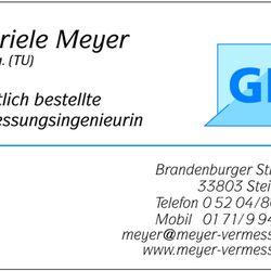 Dipl Ing Gabriele Meyer Angebot Erhalten Bauunternehmen