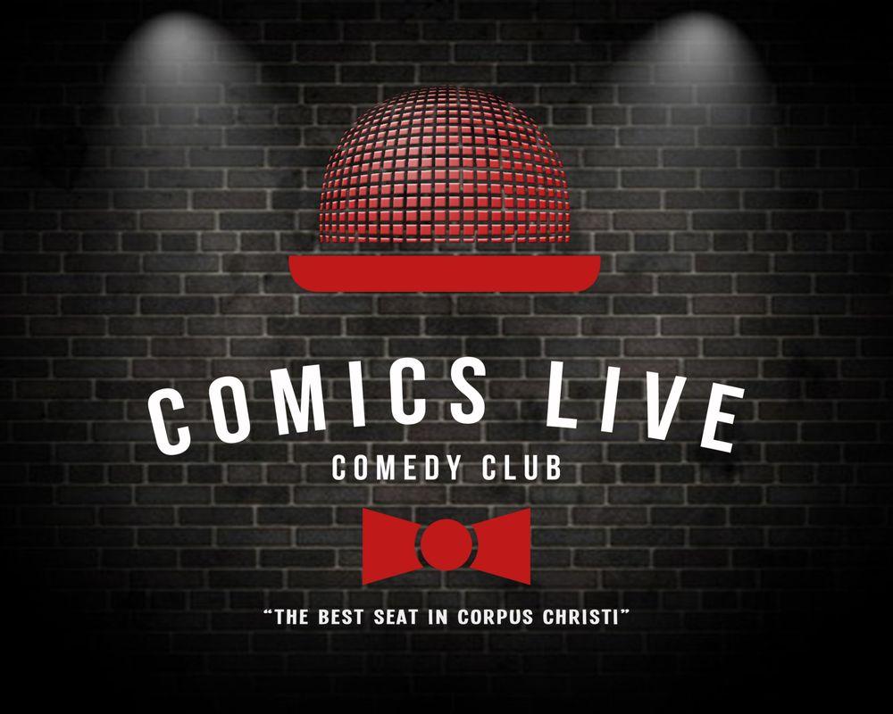 Comics Live Downtown: 429 Schatzell St, Corpus Christi, TX