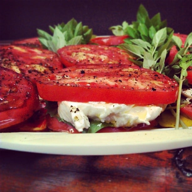 Caprese salad made with house stretched mozzarella yelp for Cuisine by claudette