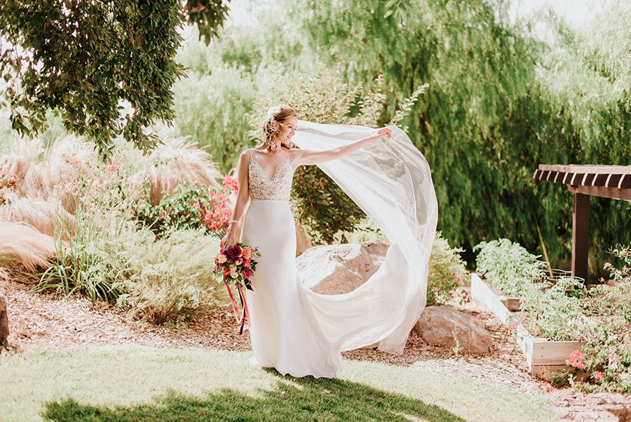 Romantic Fitted Lace And Crepe Wedding Dress Yelp