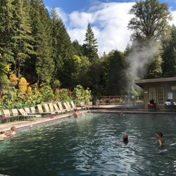 Photo Of Belknap Hot Springs Blue River Or United States Beautiful Setting