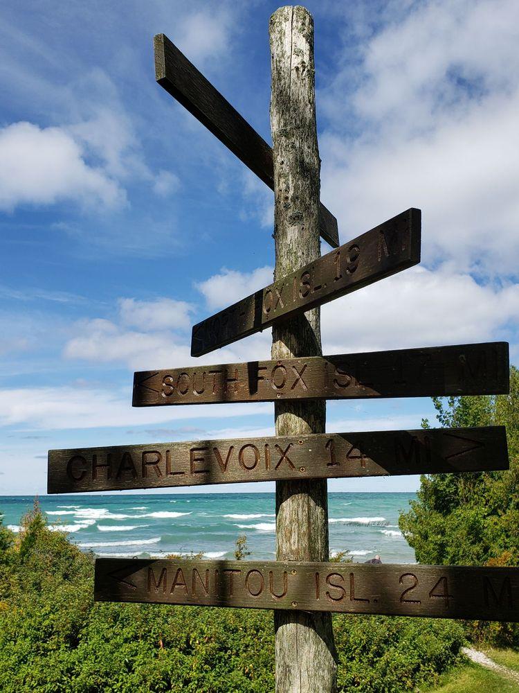 Leelanau State Park: 15390 N Lighthouse Point Rd, Northport, MI