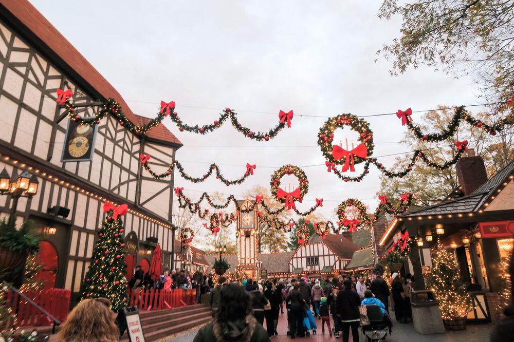photo of busch gardens williamsburg williamsburg va united states christmas town in - Christmas Town Busch Gardens Williamsburg