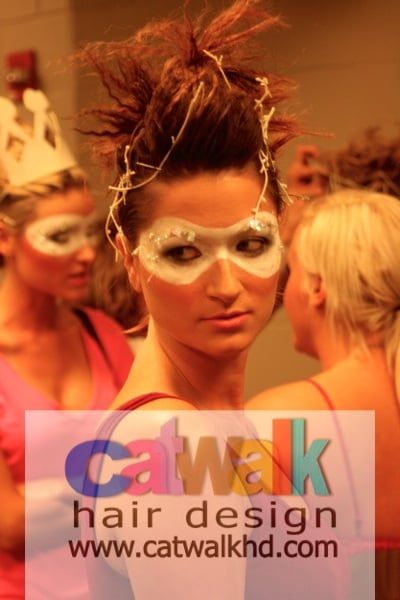 Model by catwalkhd for the white party fashion show yelp - The catwalk hair salon ...