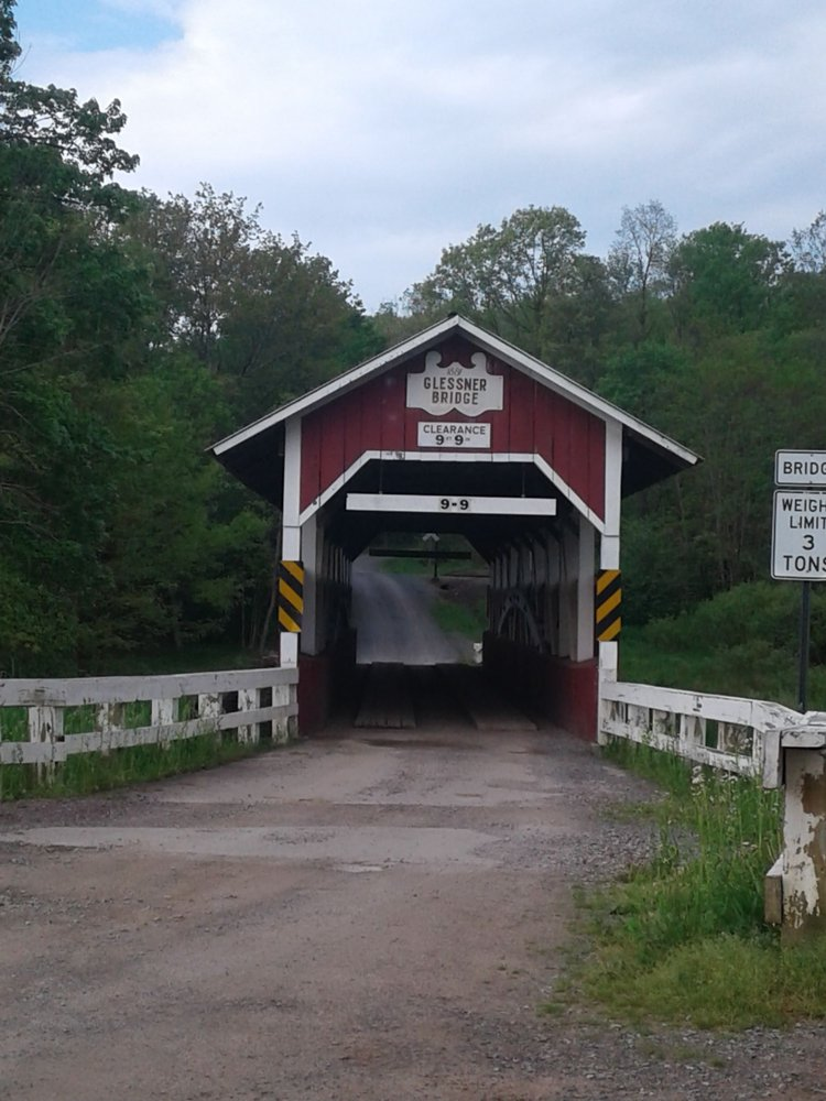 Glessner Covered Bridge: Stoystown, PA