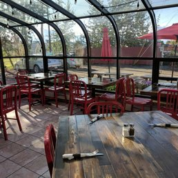 Photo Of Blue Roof Bistro Fairbanks Ak United States Sunshine Seating