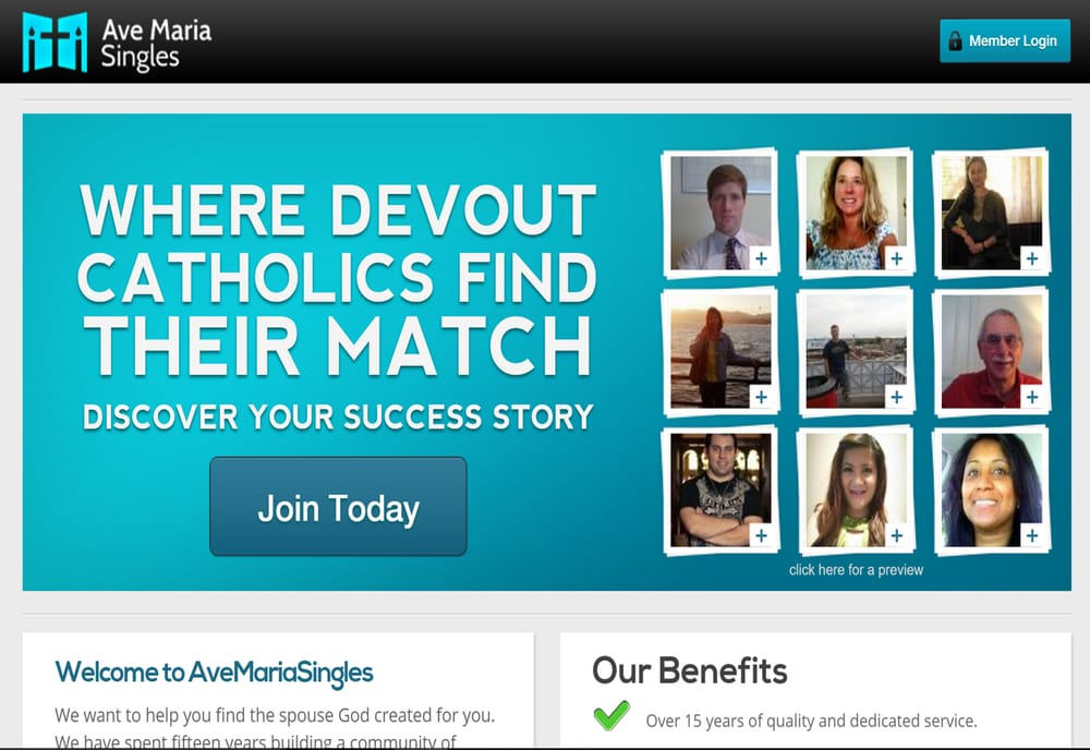 Catholic dating site ave maria