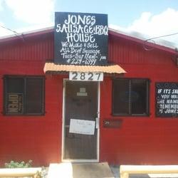 Jones Sausage House & Barbeque logo