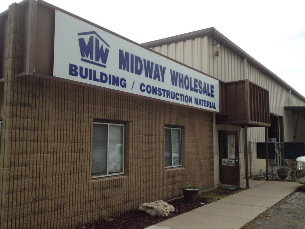 Midway wholesale building supplies 4501 merriam dr for Cheap construction materials