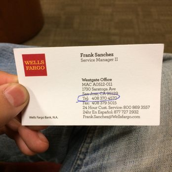 Wells fargo bank 32 reviews banks credit unions for Wells fargo business credit card phone number