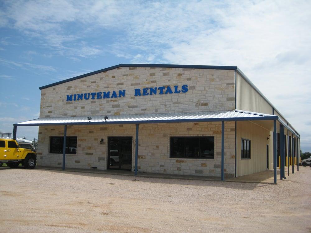 Minuteman Rentals: 2301 S Water St, Burnet, TX