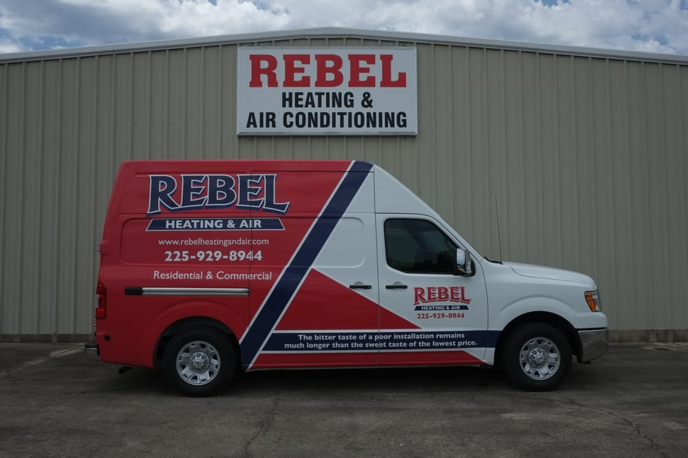 Rebel Heating & Air Conditioning Inc: 10451 Mammoth Ave, Baton Rouge, LA