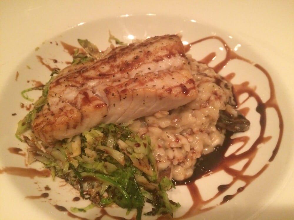 Sablefish and mushroom risotto yelp for Mitchells fish market tampa