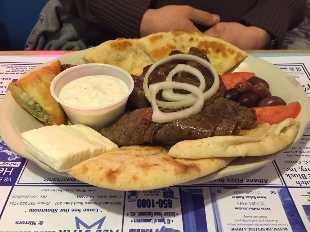 Athens Pizza Restaurant Virginia Beach Va