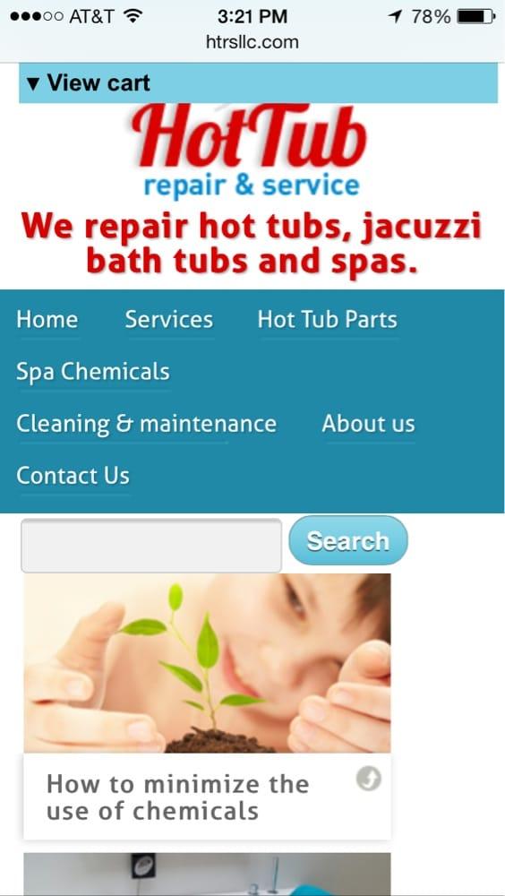 Hot Tub Repair Service : Website yelp