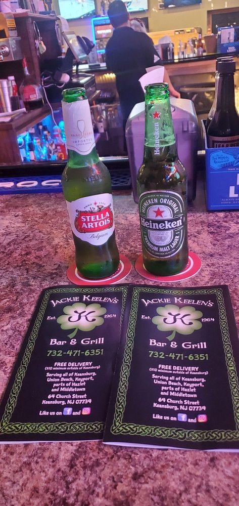 Jackie Keelens Bar: 3 Rail Rd Sq, Keansburg, NJ