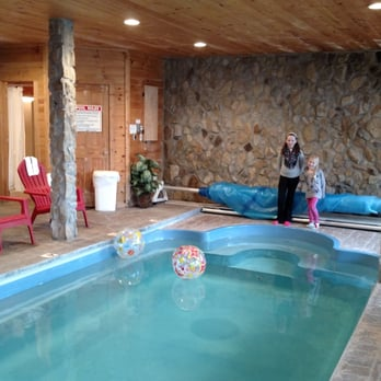 Photo Of Cabin Fever Vacations   Pigeon Forge, TN, United States. Indoor  Pool