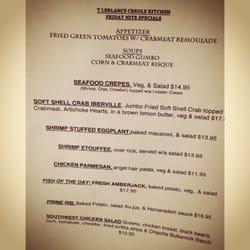 T Leblanc S Creole Kitchen Slidell