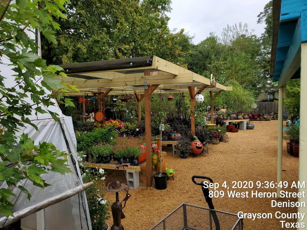 The Blossom Shoppe Gardens & Gifts: 1231 S Armstrong Ave, Denison, TX