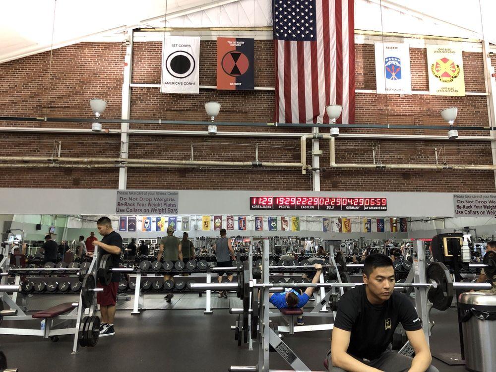 Mcveigh Sports & Fitness Center: 2161 Liggett Ave, Fort Lewis, WA