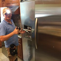 Photo Of Sam Liances Repair Chatsworth Ca United States Kitchinaid Fridge Water