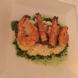 The Hudson House - Nyack, NY, United States. Shrimp over grits......amazing flavor