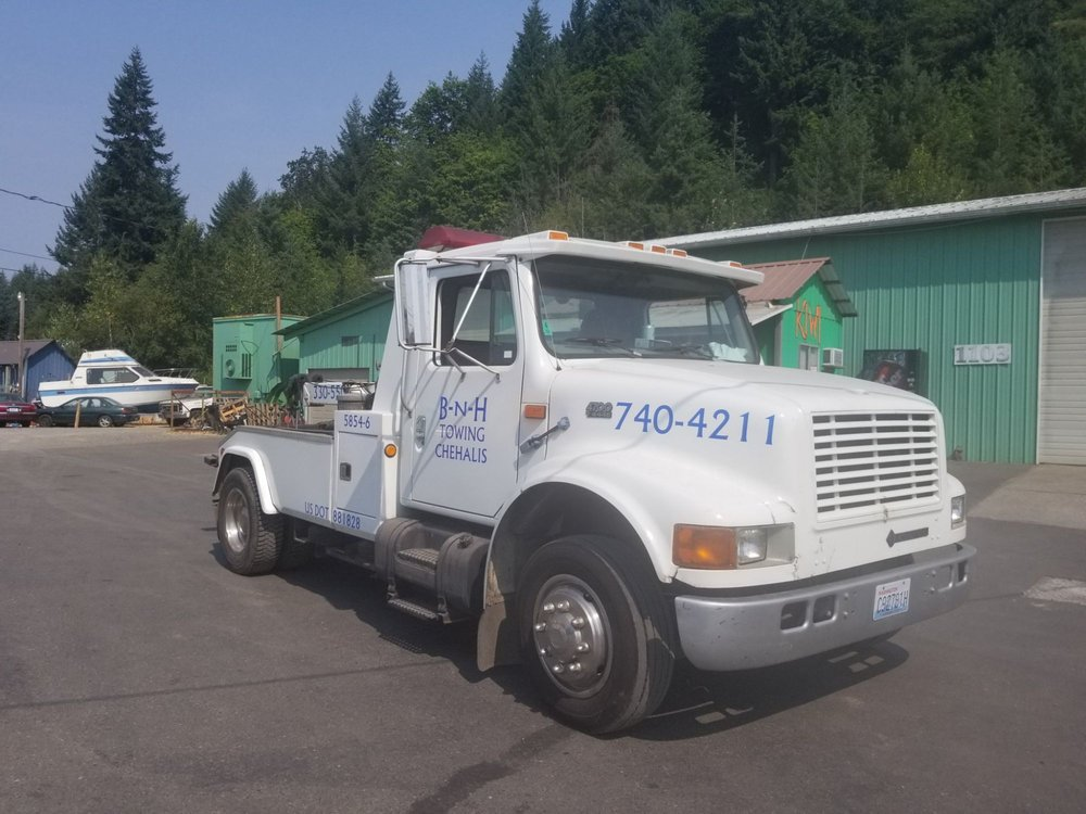 B-n-H Towing: 1103 W Reynolds Ave, Centralia, WA