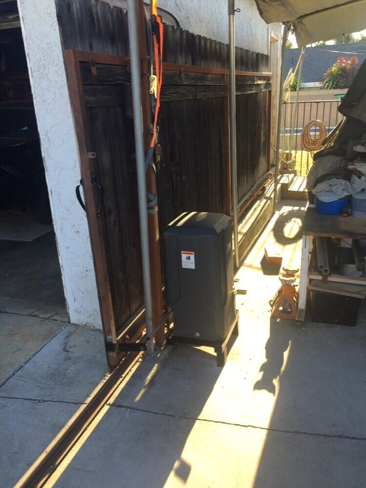 New ram 1000 installation slide gate opener yelp for Local garage door