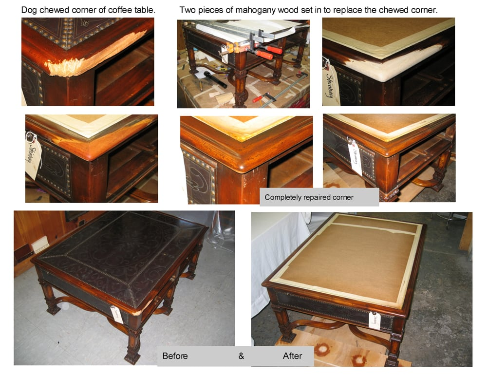 Mahogany Amp Antiqued Brass Mediterranean Style Coffee Table