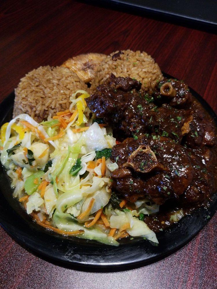 Food from Main Street Jamaican Restaurant