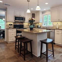 Delightful Photo Of Kitchen Magic   Nazareth, PA, United States. Antique White With  Walnut Nice Design