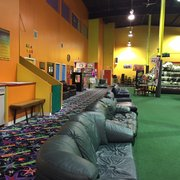 There Are Five Different Photo Of Backyard Inflatables   Frederick, MD,  United States. Lots Of Sofas Everywhere ...