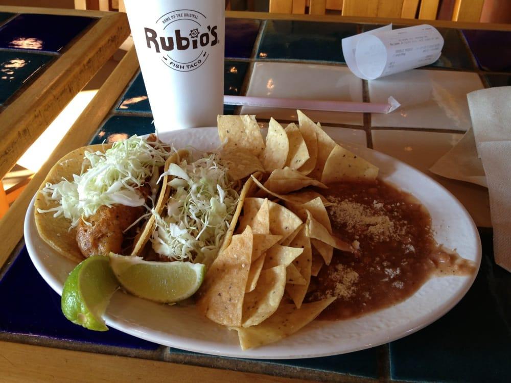 Fish taco plate yelp for Rubio s coastal grill the original fish taco
