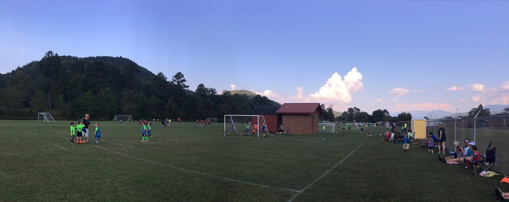 Cherokee County Soccer Complex: 276 Palmer Ln, Marble, NC