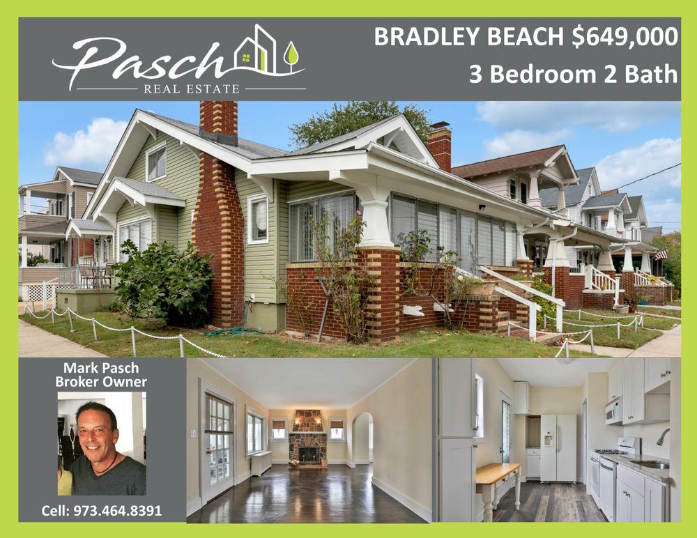 Pasch Real Estate: 704B Main St, Bradley Beach, NJ
