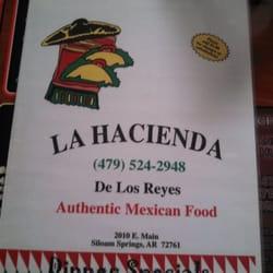 La Hacienda De Los Reyes Mexican 2010 E Main St Siloam Springs Ar Restaurant Reviews Phone Number Menu Last Updated December 12 2018 Yelp