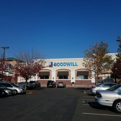Photo Of Goodwill Store   Sacramento, CA, United States. Large Parking Lot