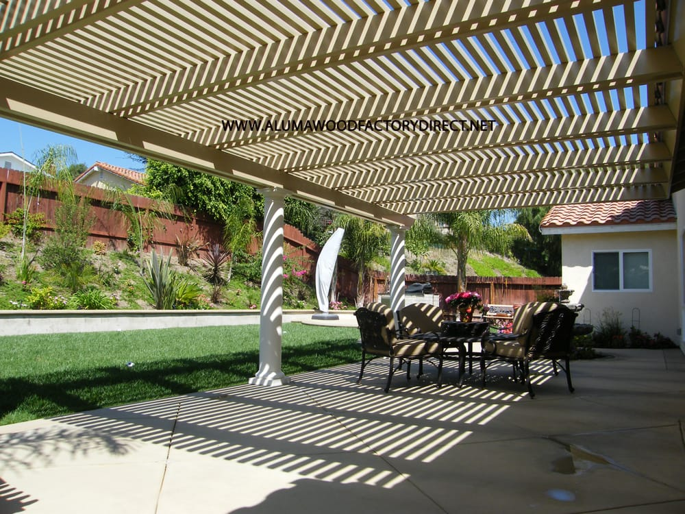 Alumawood Patio Cover In Mission Viejo California