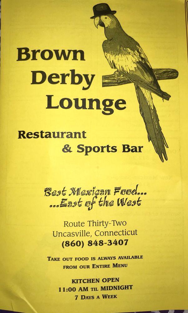 Brown Derby Lounge: 158 Norwich New London Tpke, Uncasville, CT