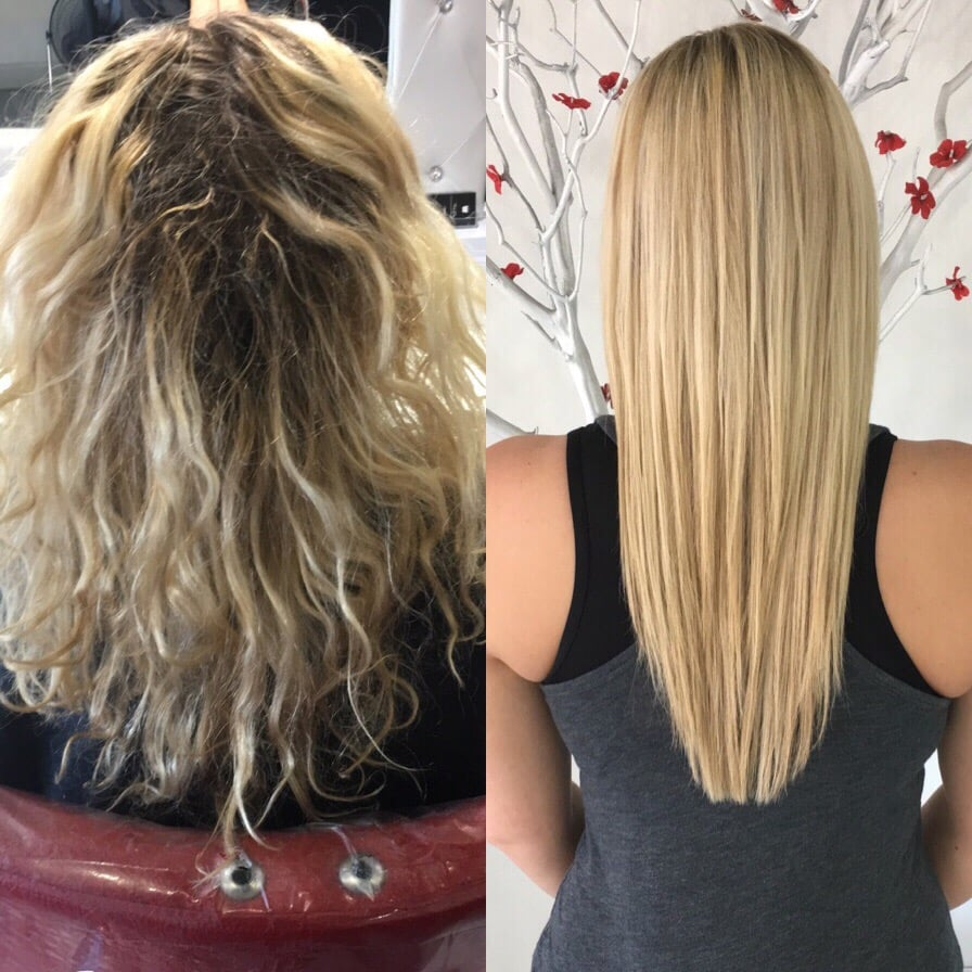 Hair Done By Tara Highlights And Brazilian Before And After Yelp