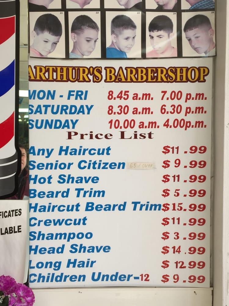 Arthurs Barber Shop Barbers 2951 Hempstead Tpke Levittown Ny