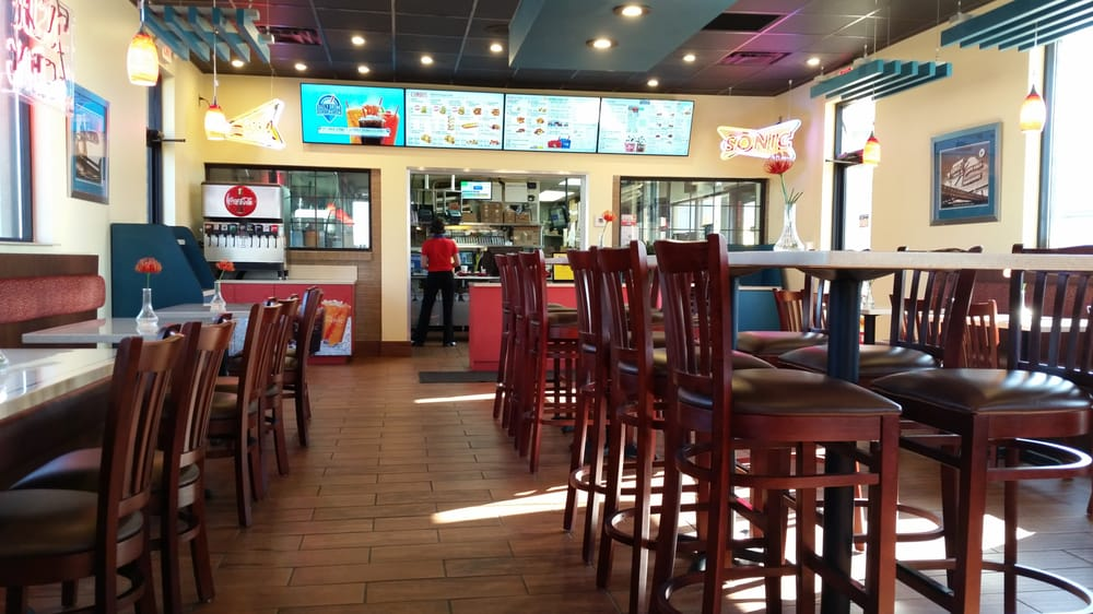 Photo of Sonic Drive In   Lexington  KY  United States  Sonic dining. Sonic dining room    Yelp