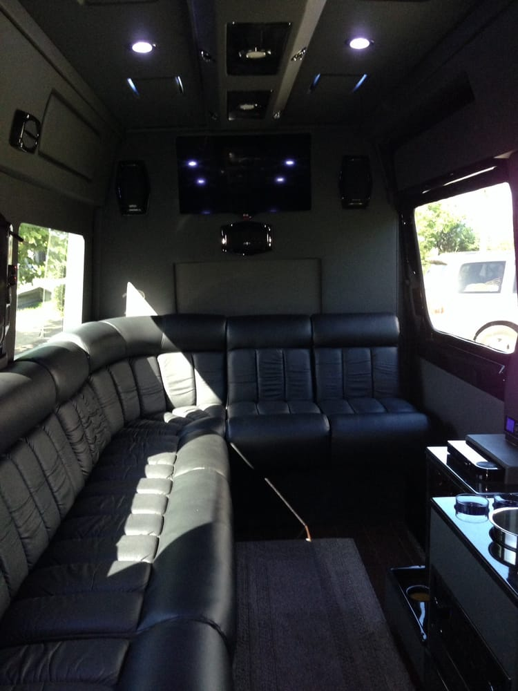 2014 Mercedes Sprinter Luxury Limo Van Interior Yelp