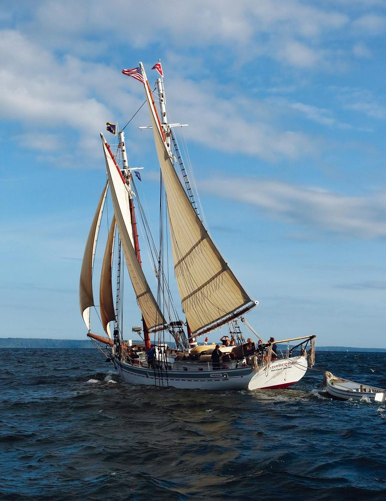 Maine DaySail and the Schooner Timberwind: 833 Mines Rd, Belfast, ME