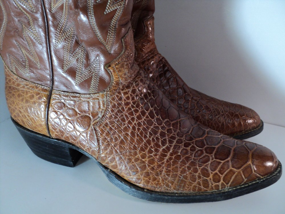 Sea Turtle 1960 S From Justin Boots Rarest And Most